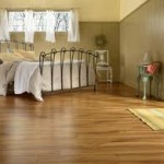 Oak Hardwood Flooring in Bedroom