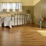Oak Hardwood Flooring in Bedroom