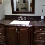 Onyx Countertops in Bathroom