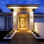 Outdoor Lighting for the Front Door