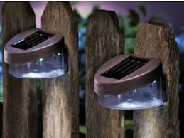 Outdoor Solar Fence Lights