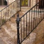 Outdoor Wrought Iron Railings