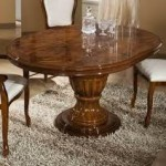 Oval Extendable Dining Table