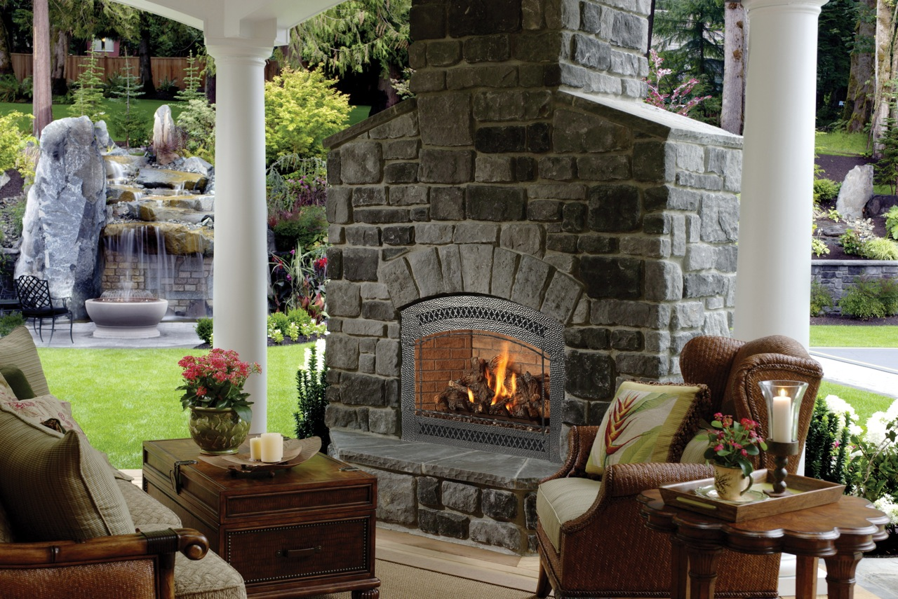 Patio Fireplace 3117