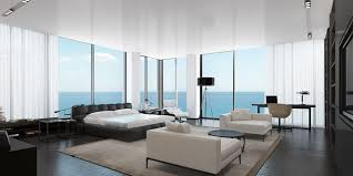 Penthouse Style Master Bedroom