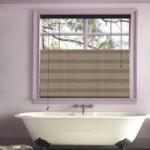 Purple Bathroom Window Treatments