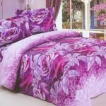 Purple Floral Girls Bedding Sets