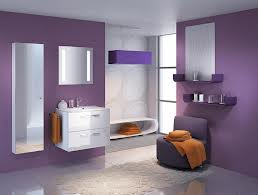 Purple Kids Bathroom