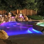 Purple LED Pool Lights