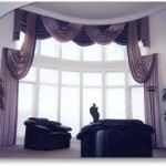 Purple Window Treatments