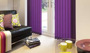 Purple Vertical Blinds
