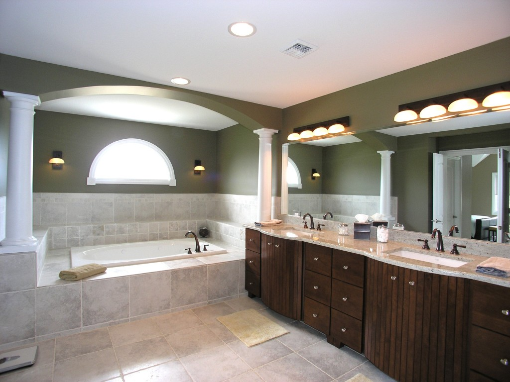Recessed Contemporary Bathroom Light Fixtures