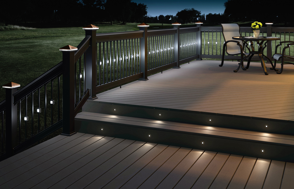 Recessed patio lights 6751 for Garden decking homebase