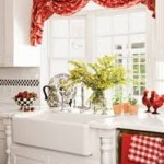 Red Kitchen Curtains