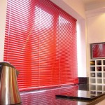 Red Window Coverings
