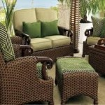 Resin Wicker Patio Furniture Chair