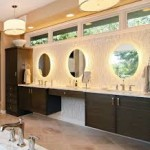 Round Bathroom Vanity Lights