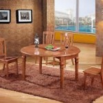 Round Oak Dining Tables