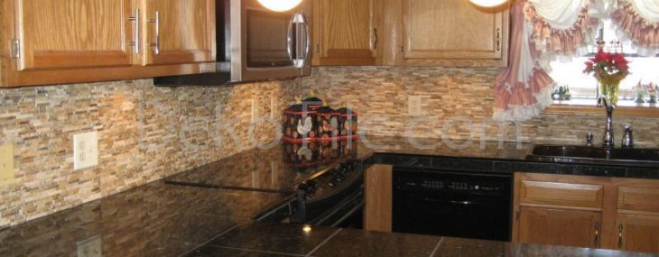 Rustic Kitchen Backsplash 6107