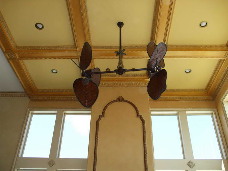 15 new and unique ceiling fans with lights qnud Living room ceiling fan ideas