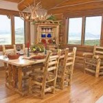 Rustic dining room light fixtures