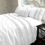 White Silk Bedding