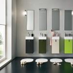 Simple Contempary Bathroom Lighting