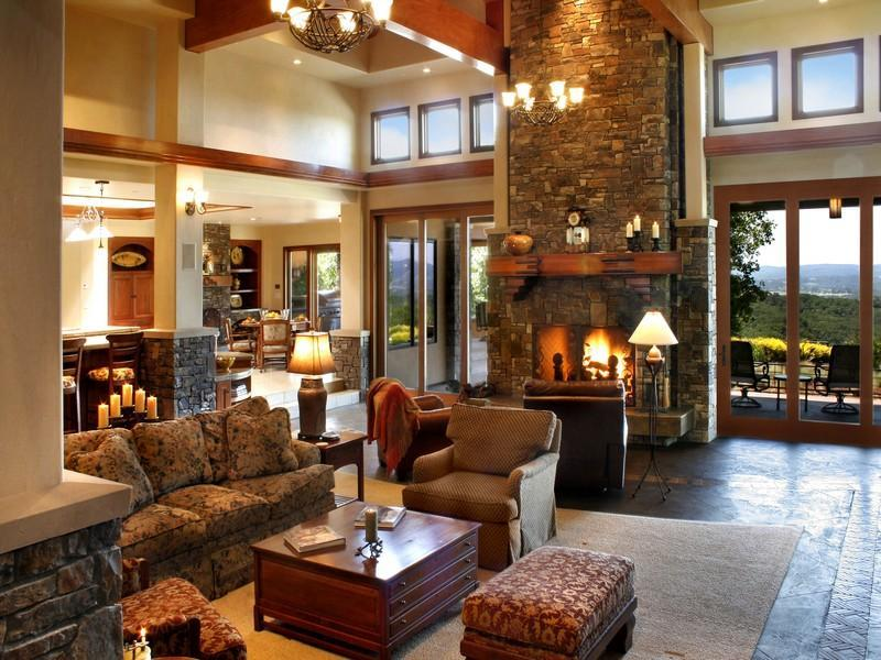Simple Country Living Room