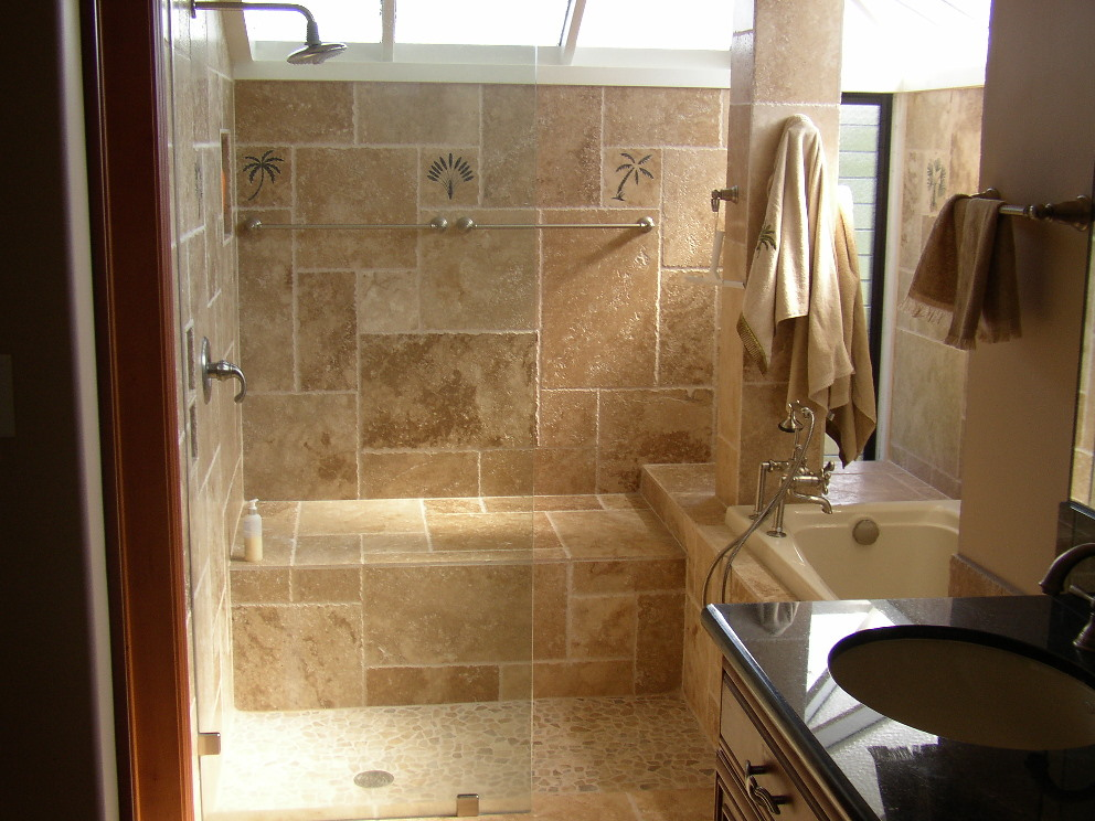The top 20 small bathroom design ideas for 2014 qnud Small shower ideas