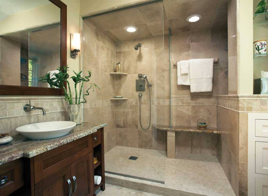 Small bathroom ideas qnud for Small bathroom remodel designs