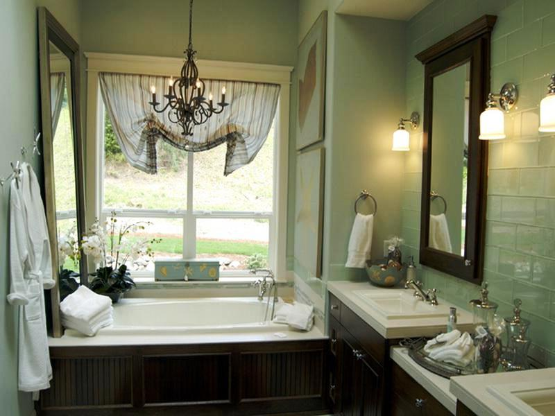 Small Bathroom Window Treatment Ideas Small Bathroom