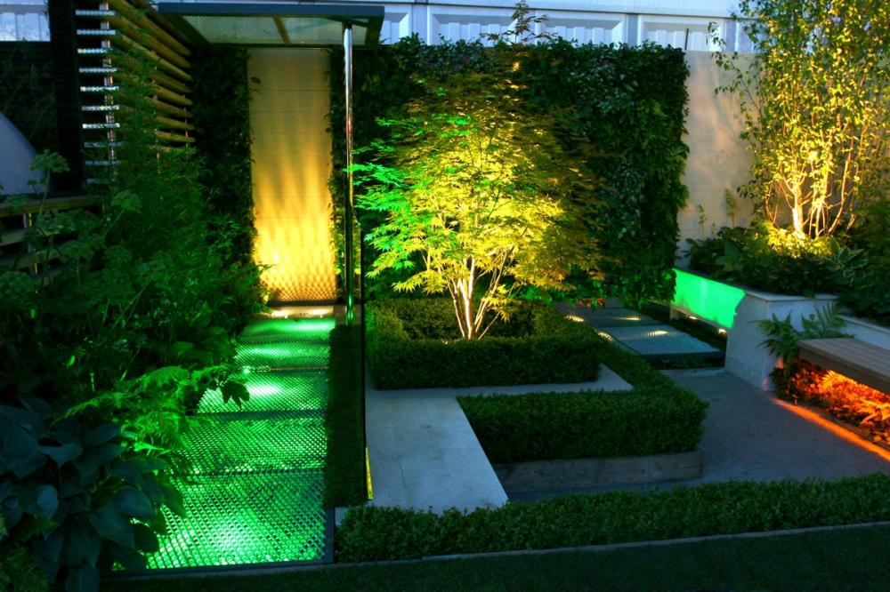 Best patio garden and landscape lighting ideas for 2014 for Garden lighting designs