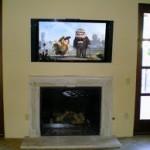 TV above Fireplace Ideas