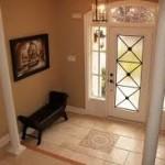 Tile Flooring in the Foyer