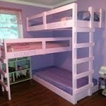 Triple Bunk Beds for Girls