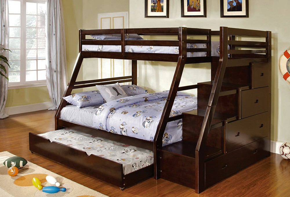Twin Over Full Bunk Bed 1000 x 679