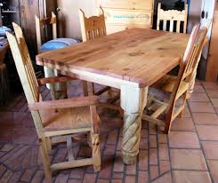 Unfinished Dining Room Table