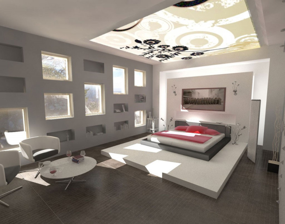 Unique Modernized Bedroom
