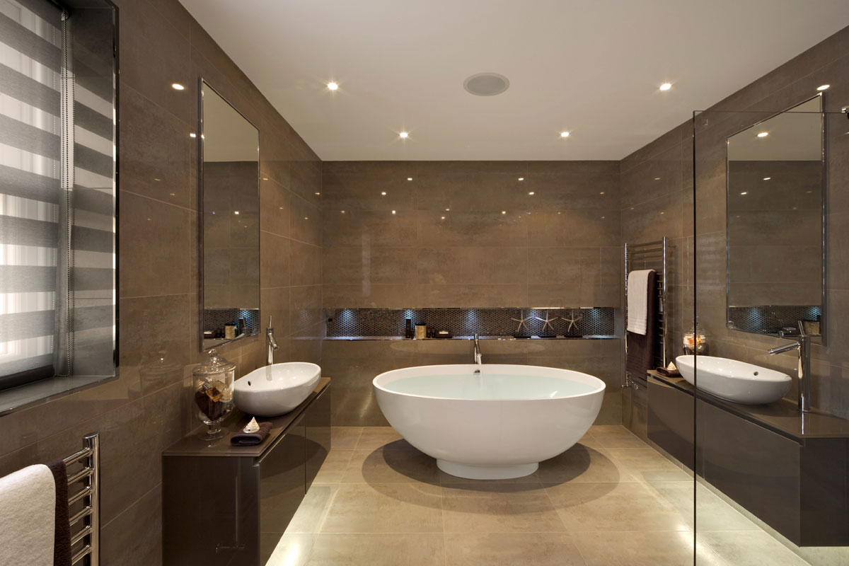 The top 20 small bathroom design ideas for 2014 qnud for Small bath design