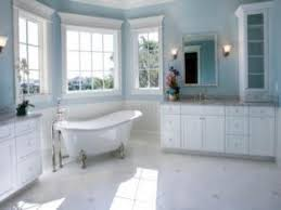 White Bathroom Floors