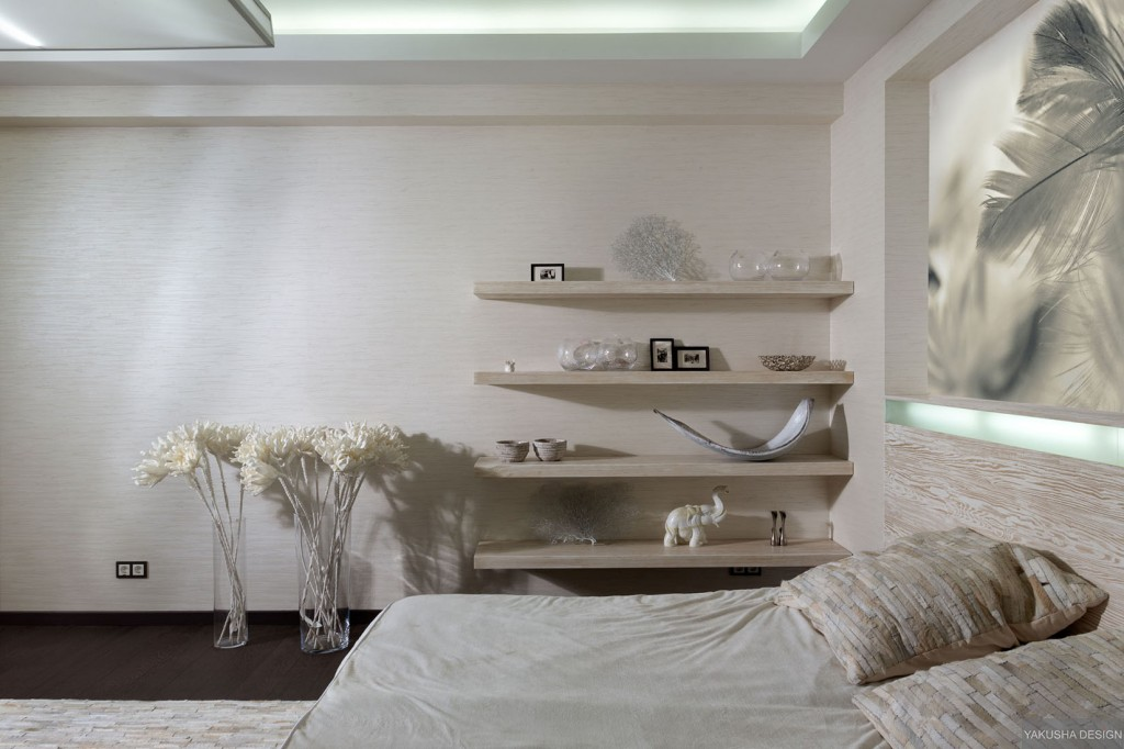 White Bedroom Accents