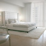 White Bedroom Window Treatments