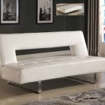 White Futon Bed