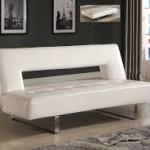 White Futon Bed