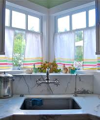 White Kitchen Curtains