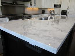 White Marble Counters