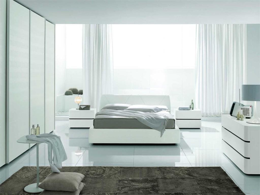 White Modern Bedding