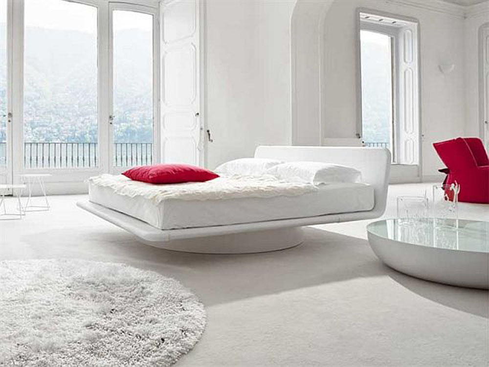 White Modern Bedroom Design