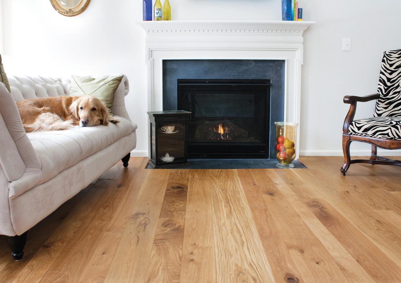 Oak hardwood flooring qnud - Living room ideas with oak flooring ...