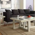 White Square Coffee Tables